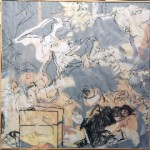 Série les Oiseaux 3 - fusain, graphite, calque, sur papier - Norbert Hillaire, 2007
